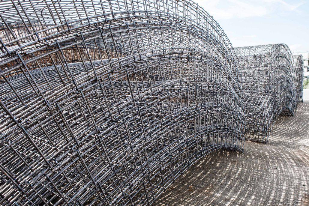 Voussoirs pour le tunnel bossler en allemagne sotralentz for Construction de tunnel