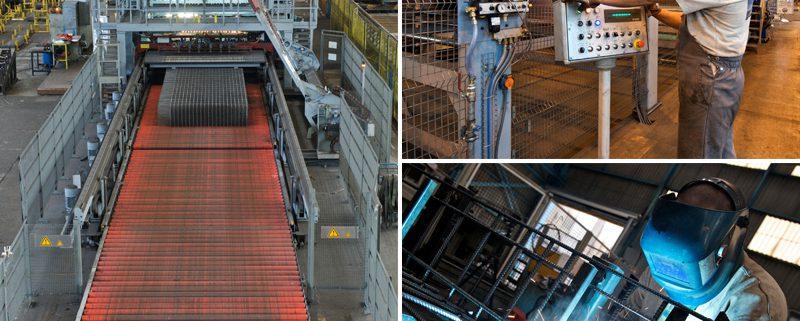 SOTRALENTZ Construction, fabricant de treillis soudés standards et spéciaux