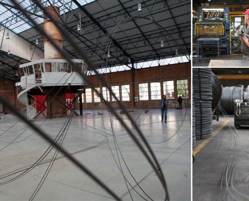 Concrete reinforcements and contemporary art