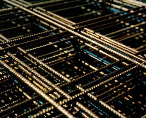 Standard welded wire mesh line
