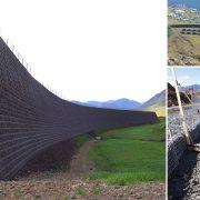 Mur paravalanche en Islande