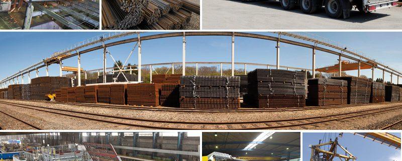 Stock welded wire mesh