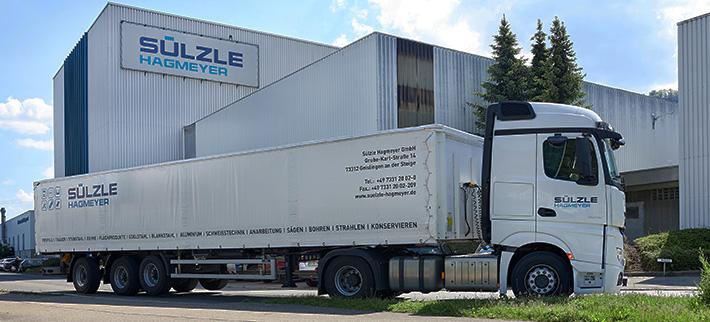 Moderne Logistik bei SÜLZLE