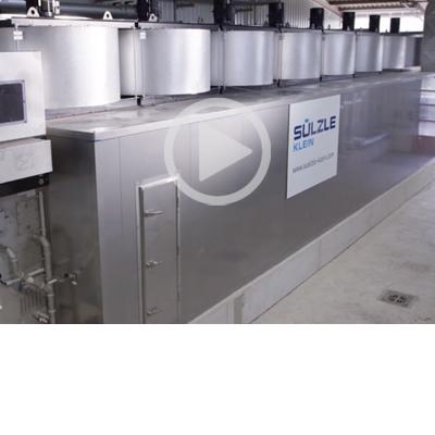 Sewage Sludge processes like drying by SÜLZLE KLEIN