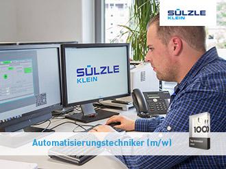 Automatisierungstechniker: Stellenangebot bei SÜLZLE Klein in Niederfischbach