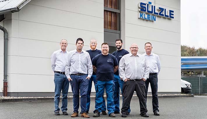 The service team of SÜLZLE KLEIN