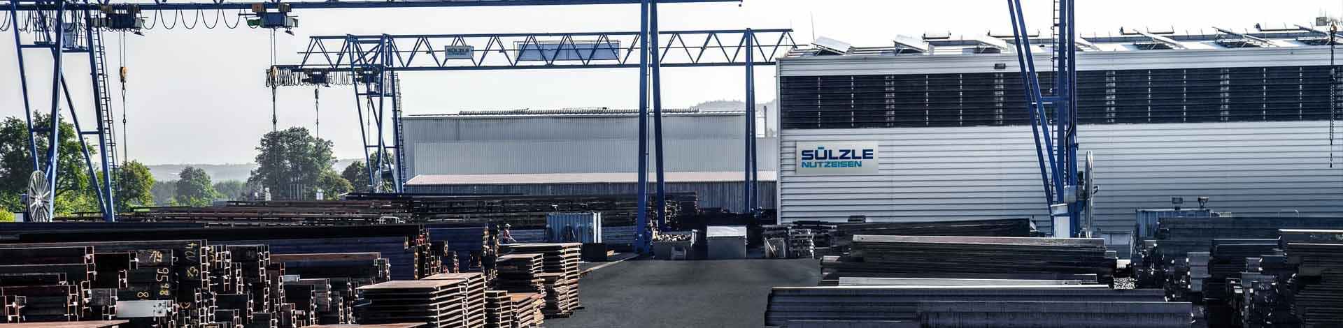 SÜLZLE Nutzeisen in Sulz am Neckar / Bergfelden: Stahlhandel, Stahlvermietung und Rückkauf von Stahl
