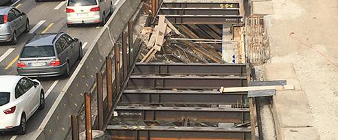 SÜLZLE Nutzeisen liefert Stahlträger zur Miete an Stuttgart 21