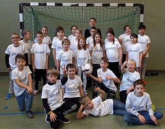 FußballTag für Grundschülerinnen und Grundschüler