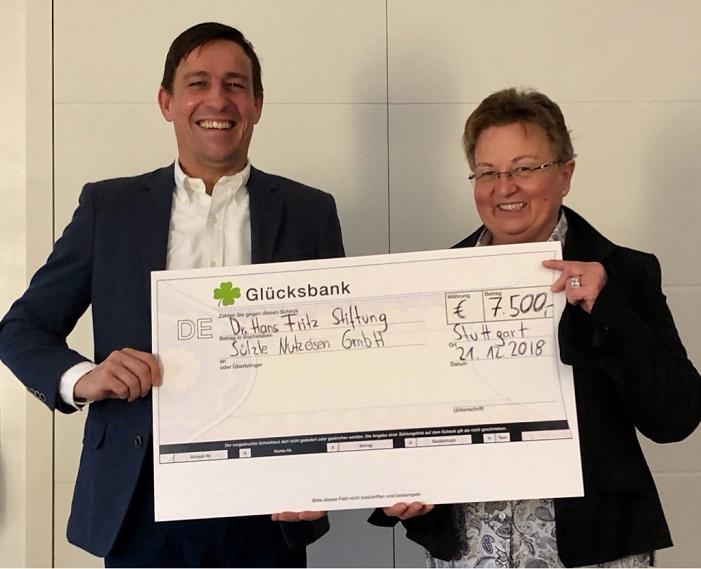 SÜLZLE Nutzeisen unterstützt Stuttgarter Stiftung
