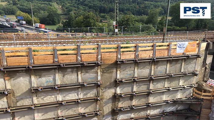 Brückenbau A8 SÜLZLE Nutzeisen