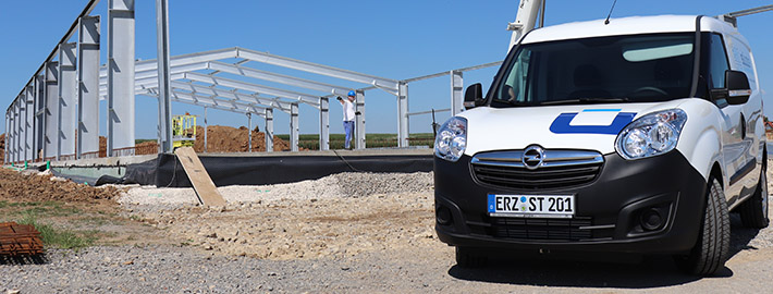 Service bei SÜLZLE Stahl Ehrenfriedersdorf: mit eigenem Fuhrpark