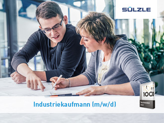 Ausbildung zum Industriekaufmann (m/w/d) bei SÜLZLE