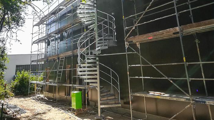 Fertigstellung des Neubaus in den letzten Zügen