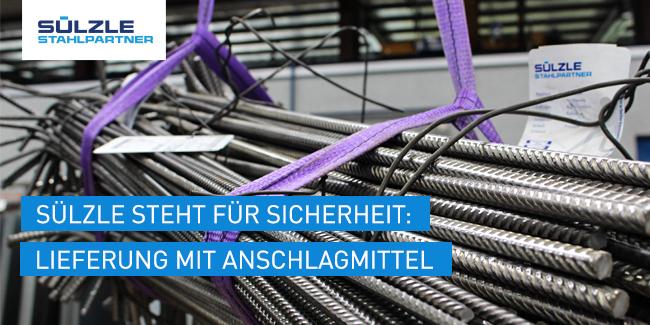 Hebebänder - SÜLZLE Stahlpartner - Ein Unternehmen der SÜLZLE Gruppe