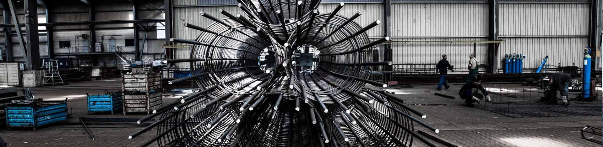 Bewehrungsstahl von SÜLZLE Stahlpartner: an 14 Standorten in Deutschland