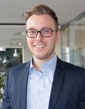 Manuel Koch: Vertriebsleiter der SÜLZLE Stahlpartner Niederlassung Rosenfeld