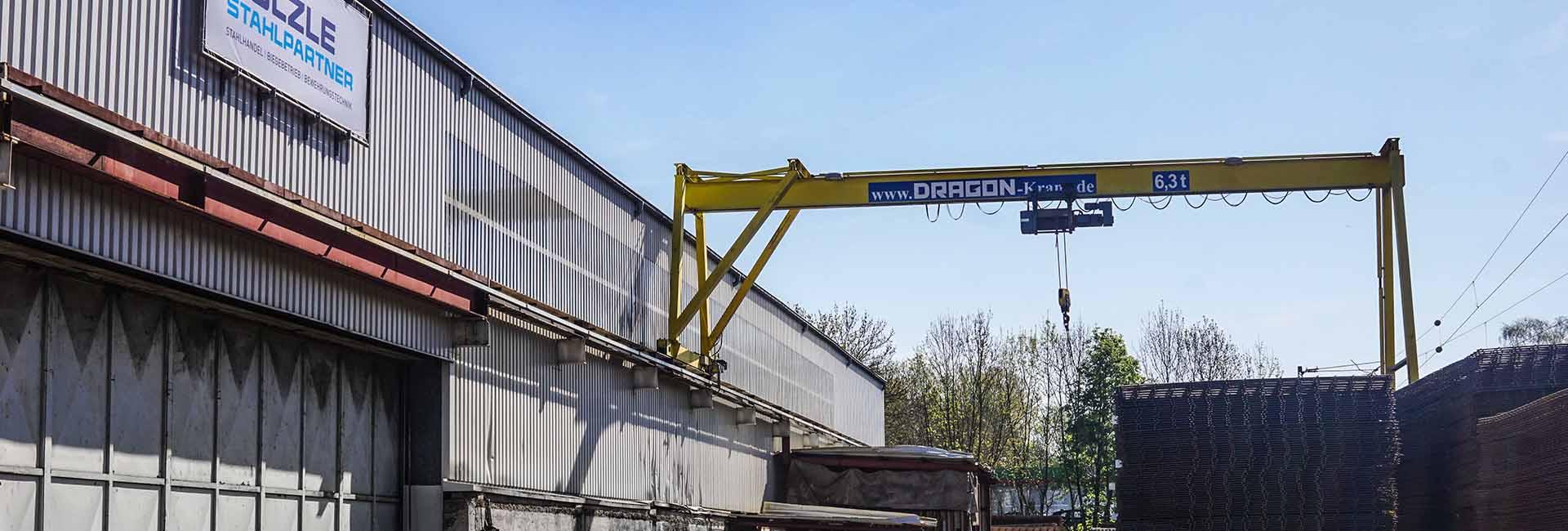 Die SÜLZLE Stahlpartner Niederlassung in Göppingen