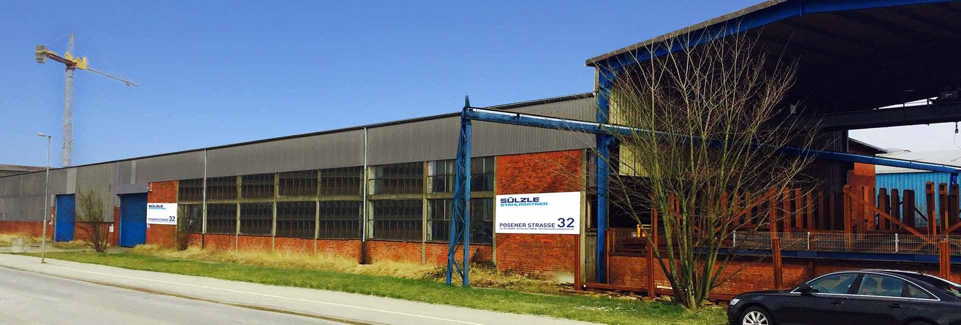 Die SÜLZLE Stahlpartner Niederlassung in Lübeck