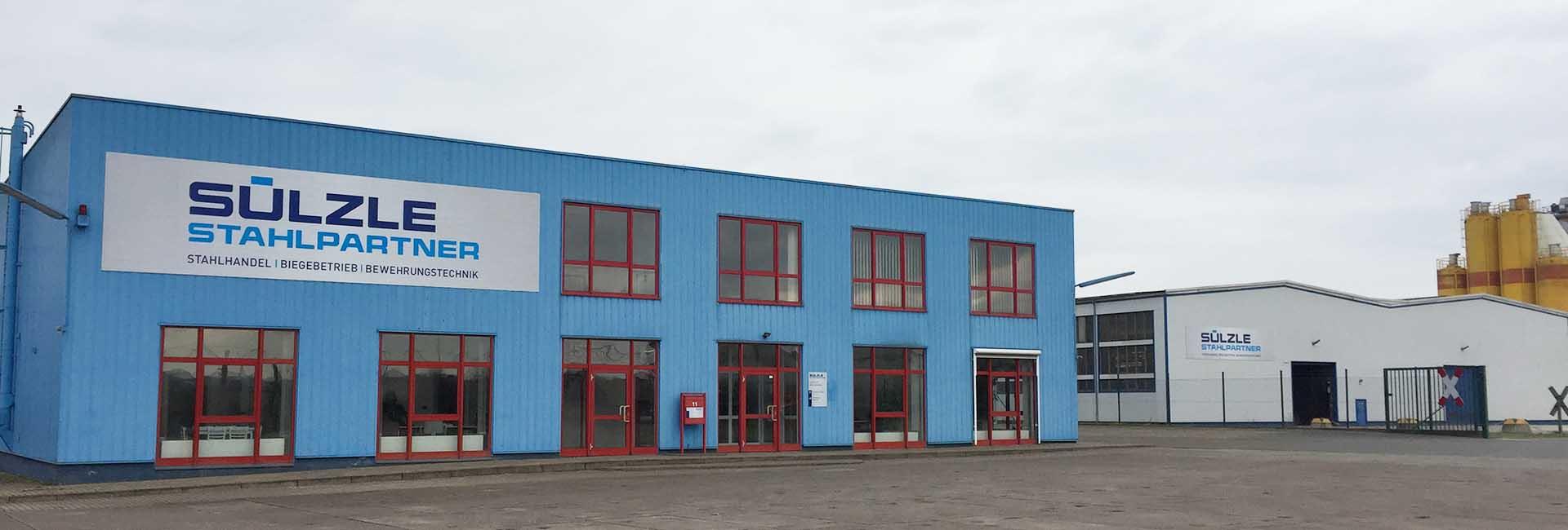 Die SÜLZLE Stahlpartner Niederlassung in Nordhausen
