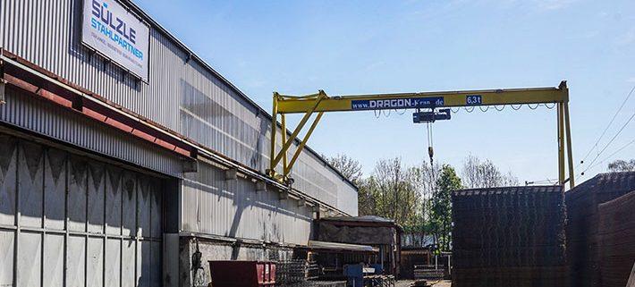 Neue SÜLZLE Stahlpartner Niederlassung am Standort Göppingen