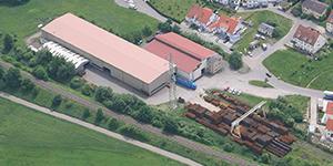 The SÜLZLE Stahlpartner branch in Dusslingen