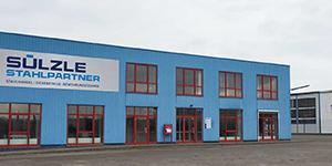 The SÜLZLE Stahlpartner branch in Nordhausen