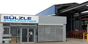 The SÜLZLE Stahlpartner branch in Pressath