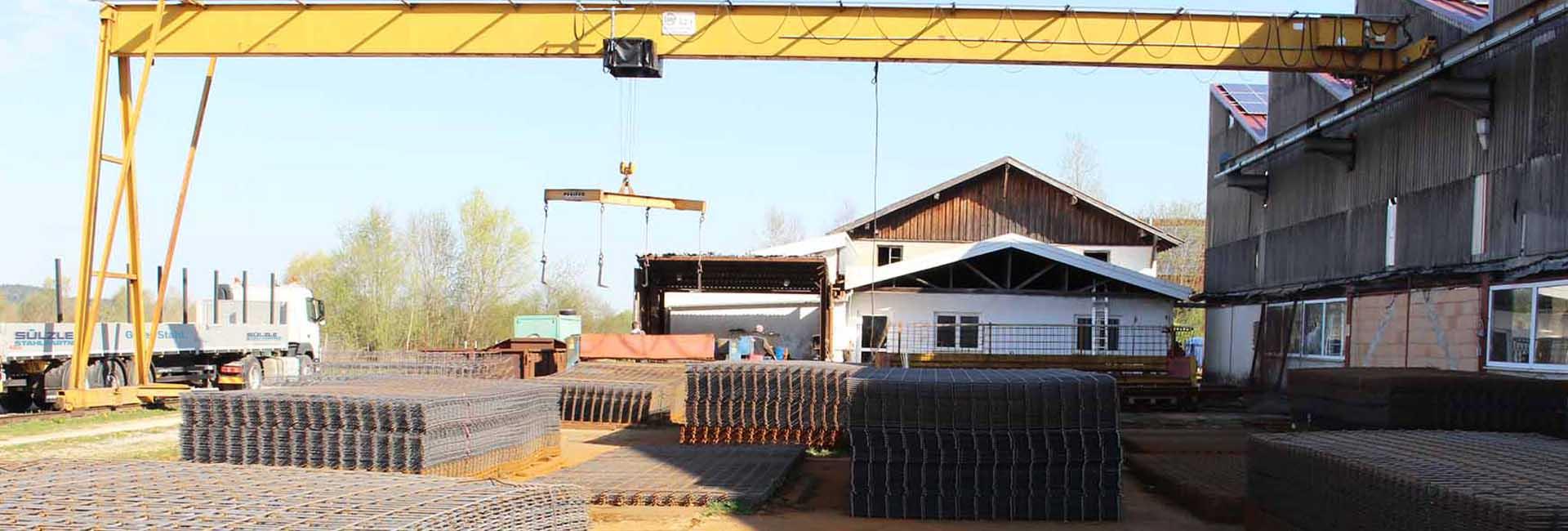 Die SÜLZLE Stahlpartner Niederlassung in Schwendi