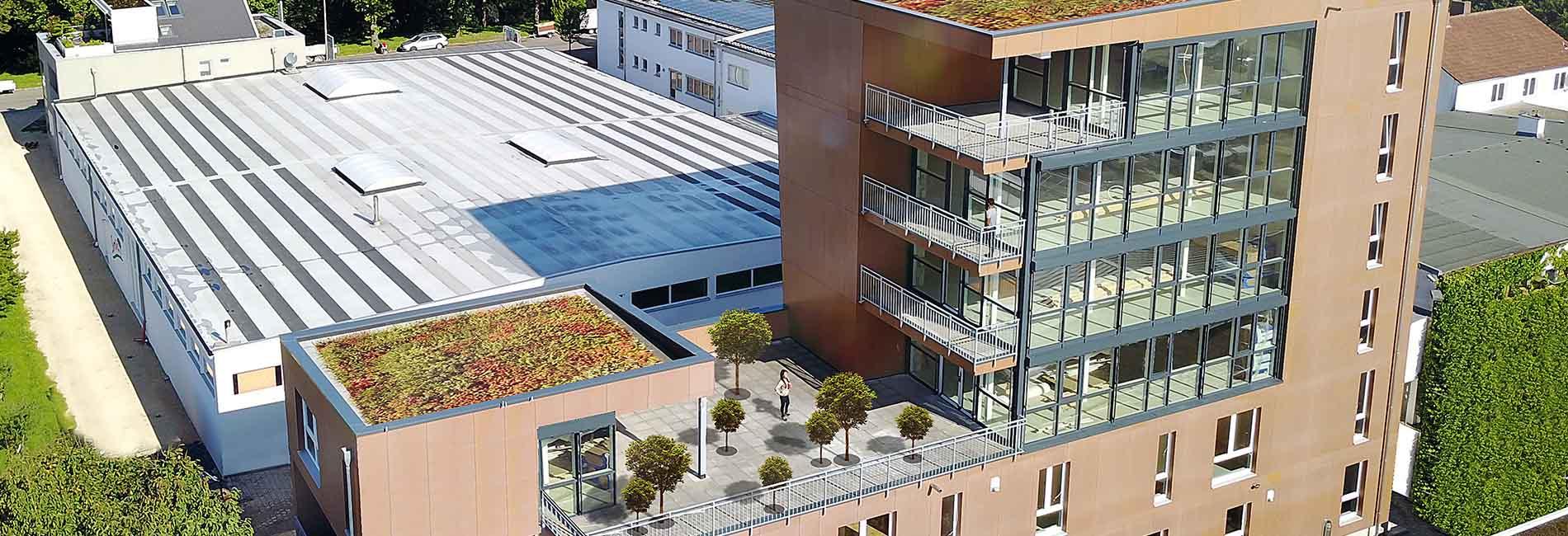 Zimmermann Michael Tietz baute Sechsgeschosser in Holzbauweise in Tübingen - SÜLZLE Stahlpartner lieferte rund 40t Stahlträger