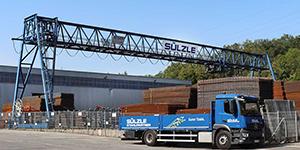 Die Sülzle Stahlpartner-Niederlassung in Denkendorf