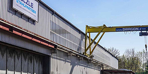 Die Sülzle Stahlpartner-Niederlassung in Göppingen