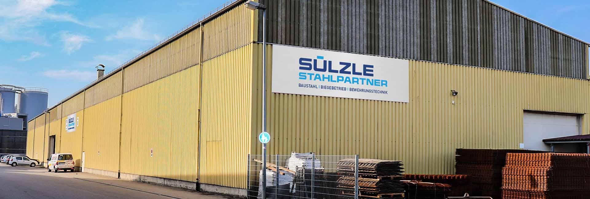 Der SÜLZLE Stahlpartner Standort in Stockach