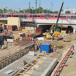 Die SÜLZLE Stahlpartner-Niederlassung in Dessau-Roßlau beliefert das Großprojekt City Tunnel in Magdeburg