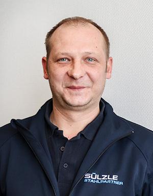 Disposition am Standort SÜLZLE Stahlpartner-Dornstetten: Markus Giesa