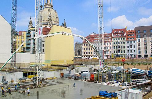 Quartier Hoym schließt Baulücke am historischen Neumarkt