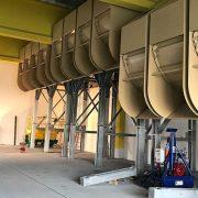 Montage der Siloanlage von SÜLZLE KOPF Anlagenbau