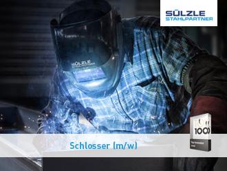 Die SÜLZLE Stahlpartner Niederlassung in Dessau-Roßlau sucht ab sofort einen Schlosser (M/W)