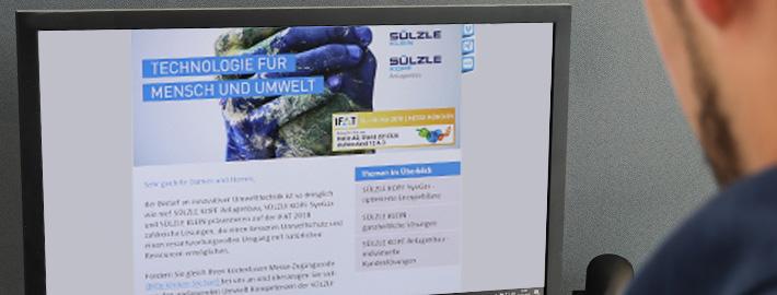 Der SÜLZLE Newsletter: Jetzt abonnieren und alle Neuigkeiten rund um die SÜLZLE Gruppe immer aktuell miterleben