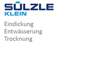 SÜLZLE KLEIN: Eindickung, Entwässerung und Trocknung aus Niederfischbach