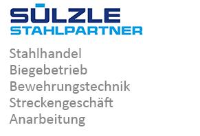 SÜLZLE Stahlpartner: Stahlhandel, Biegebetrieb, Bewehrungstechnik, Streckengeschäft und Anarbeitung