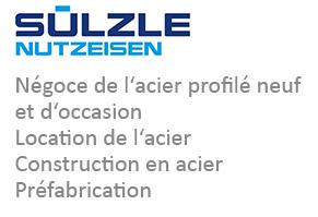 SÜLZLE Nutzeisen: Négoce de l'acier profilé neuf et d'occasion, location de l'acier, construction en acier et prefabrication