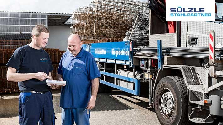 Stellenangebot: SÜLZLE Stahlpartner sucht einen Berufskraftfahrer (M/W)