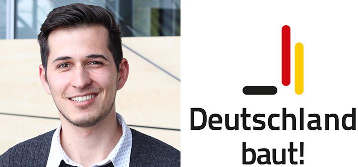 """""""Deutschland baut!""""-Trainee Michael Stölzle freut sich auf die Arbeit bei der SÜLZLE Gruppe"""