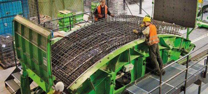 SOTRALENTZ CONSTRUCTION mit eigens errichteter Produktionsstätte am Bosslertunnel