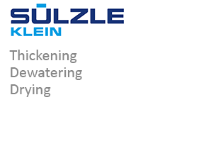 SÜLZLE KLEIN: Thickening, dewatering and drying in Niederfischbach