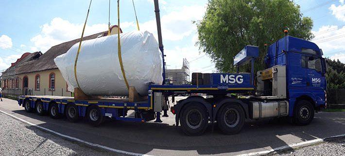 SÜLZLE KOPF ist verantwortlich für die Druckfilterkessel & hydraulische Ausrüstung bei der Wasserversorung von Rastatt