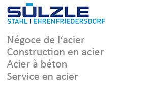SÜLZLE Stahl Ehrenfriedersdorf: Négoce de l'acier, construction en acier, acier à béton et service en acier