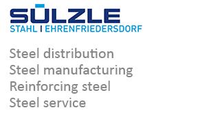 SÜLZLE Stahl Ehrenfriedersdorf: Steel distribution, steel manufacturing, reinforcing steel and steel service in Ehrenfriedersdorf