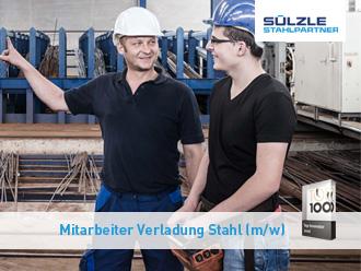 Für unseren Standort in Schwendi suchen wir ab sofort einen Mitarbeiter für die Verladung von Stahl (m/w)